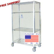clear vinyl cart covers