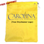 printed dry cleaner counter bags